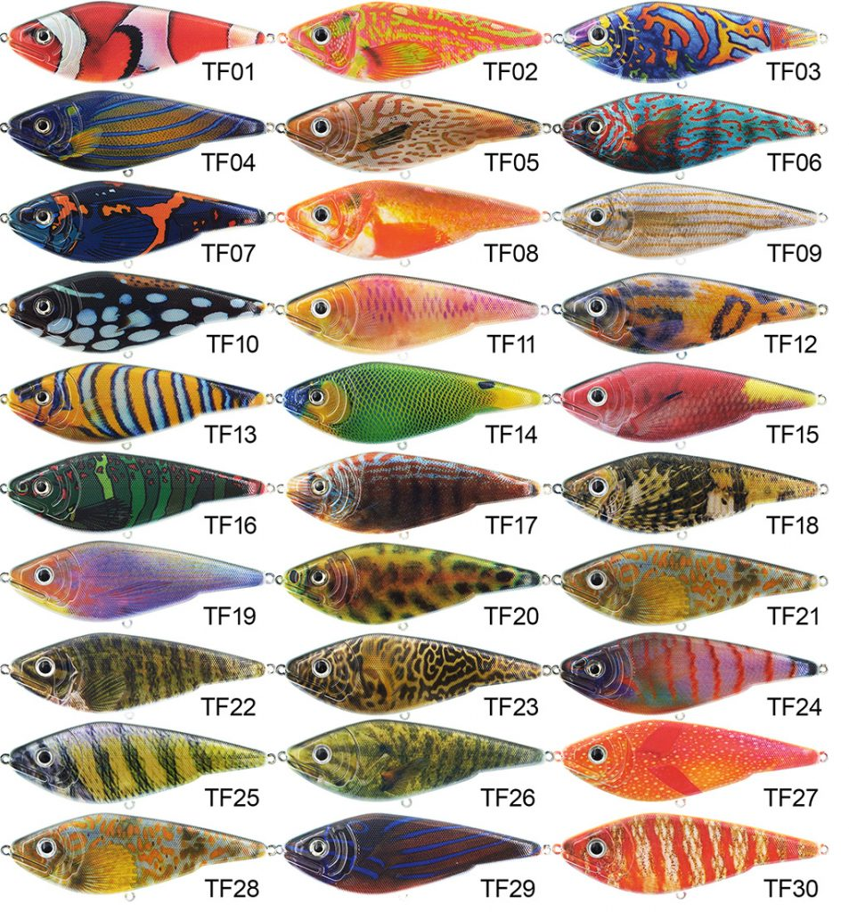 Motion Buster Jerk 9CM 25G Tropical fish series