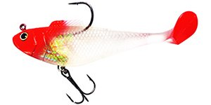 """K4""""5""""6"""" soft lures with hook"""
